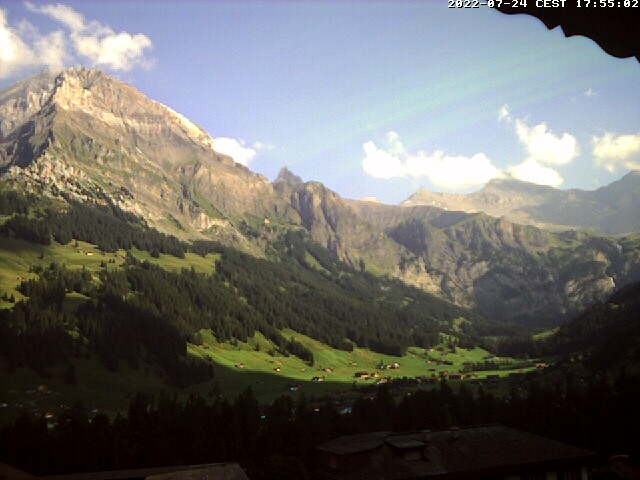 Adelboden Weather Live Cam Webcam from Adelboden direct from Chalet Chefihuesi